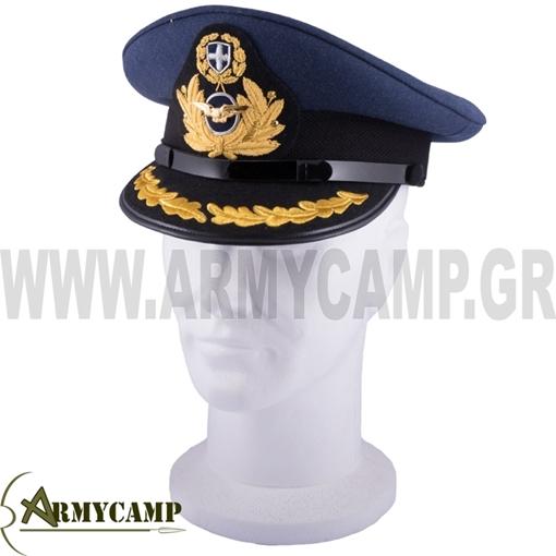Picture of SENIOR MEN OFFICER's UNIFORM CAP OF HELLENIC  AIRFORCES