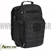 1000DENIER NYLON MOLLE  WATERPOOF BACKPACK RUSH 24 CAPACITY 40L. BLACK SPECIAL OFFER