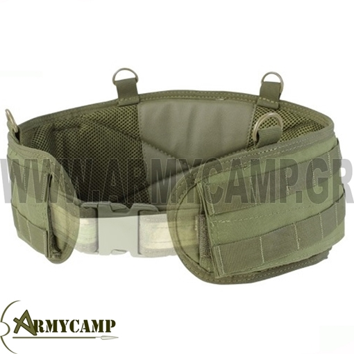 ΖΩΝΗ ΜΑΧΗΣ MOLLE CONDOR ΧΑΚΙ ΛΑΔΙ 5.11 BROKOS TASMANIAN  MKII WARRIOR  BELT