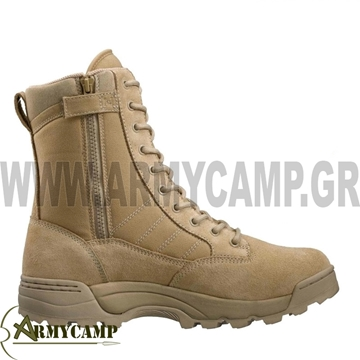 Εικόνα της CLASSIC 9'' ORIGINAL SWAT BOOTS TAN SIDE ZIP