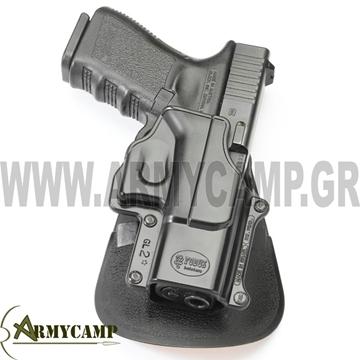 ΠΙΣΤΟΛΟΘΗΚΗ FOBUS ISRAEL GLOCK 17,19 glock 19 pistolo8hkh GL-2 FOBUS