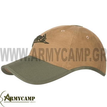 LOGO CAP HELIKON-TEX POLYCOTTON RIP-STOP FABRIC 60% COTTON