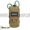 WARRIOR INDIVIDUAL FIRST AID POUCH COYOTE TAN Warrior Individual First Aid Pouch Coyote Tan