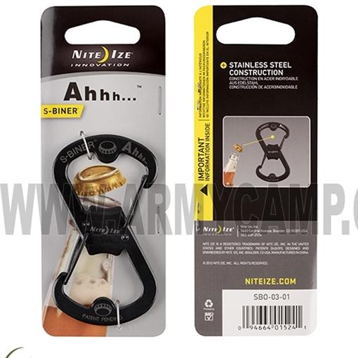Picture of Ahhh...™ - S-Biner®-Bottle Opener