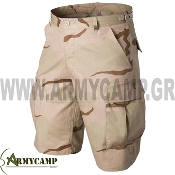 US BDU SHORTS DESERT HELIKON-TEX GREECE