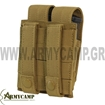DOUBLE PISTOL MAG POUCH MOLLE  BY CONDOR MA23 MULTICAM