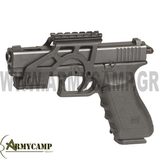PICATTINY  rail SYSTEM ΓΙΑ GLOCK 17 greece