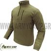 fleece zip pullover by condor 607