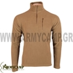 fleece zip pullover by condor 607 COYOTE