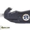 EMS SAVER II ALPIN JACK KNIFE ORANG BLACK GREECE POCKET KNIFE