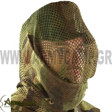 τουρμπανι διχτυωτο παρ/γης ελευθερου σκοπευτη παραλλαξη κεφαλης κασκολ με διχτυ commander πενταγκον pentagon