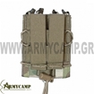 univesal-single-quick-mag-with-single-pistol-pouch-multicam MOLLE  WARRIOR