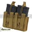 191089 CONDOR DOUBLE M14 MAG POUCH MOLLE BY CONDOR G3  OLIVE DRAB BLACK
