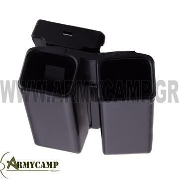 ΔΙΠΛΗ ΑΝΟΙΧΤΗ ΓΕΜΙΣΤΗΡΩΝ 9mm ΜΕ ΠΕΡΙΣΤΡΟΦΗ πλαστικη πολυμερικη αστυνομιασ Usp compact