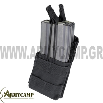 MA42 MA42 BY CONDOR SINGLE STACKER M4 MAG POUCH ΘΗΚΗ ΑΣΥΡΜΑΤΟΥ ΑΣΤΥΝΟΜΙΑΣ ΑΣΤΥΝΟΜΙΑΣ-ΕΙΔΙΚΩΝ-ΦΡΟΥΡΩΝ-ΔΙ.ΑΣ
