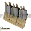 TRIPLE M4 MAG POUCH BY CONDOR COYOTE TAN MA44  GREECE