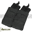 DOUBLE OPEN TOP M4 MAG POUCH COYOTE DIPLH GEMISTHRWN M4 M16 SE SEIRA MOLLE