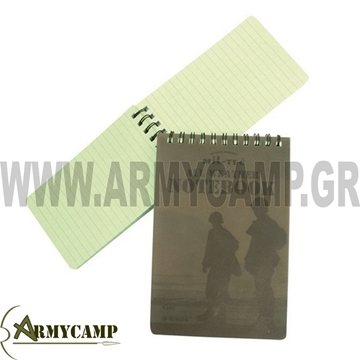 Picture of SMALL MESSAGE BOOK WATERPROOF