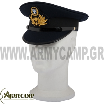 Picture of COMMISIONED OFFICER'S UNIFORM CAP OF GREEK ARMY