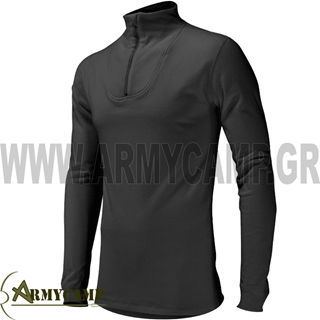 Picture of BMD DOUBLE LAYER ISOTHERMAL 3/4 ZIPPER-BLACK