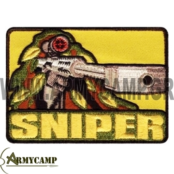 sniper-patch-ROTHCO-72187 ΔΙΑΚΡΙΤΙΚΟ ''SNIPER'' ΕΛΕΥΘΕΡΟΥΣ ΚΟΠΕΥΤΗ