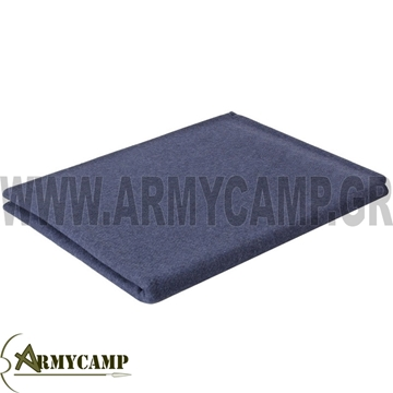 Picture of WOOL BLANKET NAVY BLUE