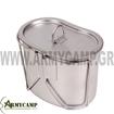 512 ROTHCO CANTEEN CUP STAINLESS STEEL FOR MILITARY WATER BOTTLE KYPELO ALOUMINIOU GIA PAGOURI STRATIOTIKO ME XEROULI
