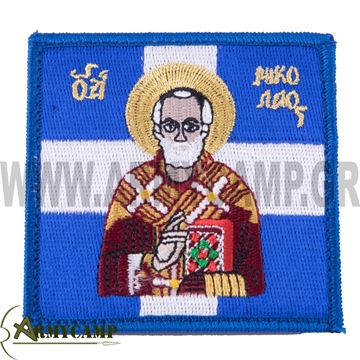 Picture of SAINT NICOLAOS FLAG PATCH