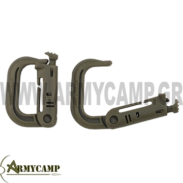 "Picture of Carabiner, plastic, ""Molle"""