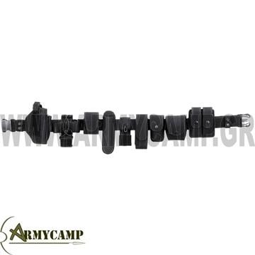 ΖΩΝΗ ΕΞΑΡΤΗΣΗΣ ΑΣΤΥΝΟΜΙΑΣ ΟΙΚΟΝΟΜΙΚΗ ΣΕ ΠΡΟΣΦΟΡΑ ΠΛΗΡΗΣ nylon-belt-security-black-12-pcs-plastic-form
