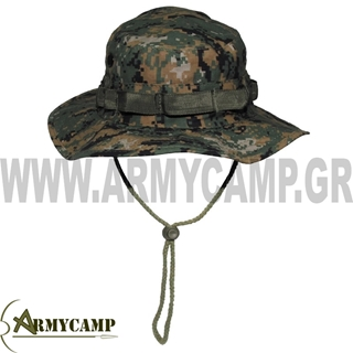 Picture of US GI Bush hat, rip stop, DIGITAL WOODLAND