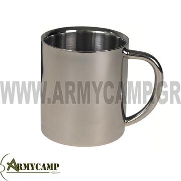 ΚΟΥΠΑ ΔΙΠΛΟ ΤΟΙΧΩΜΑ ΜΕΤΑΛΛΙΚΗ ΣΤΡΑΤΟΥ CAMPING cup-double-walled-250-ml-stainless-steel