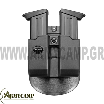 ΘΗΚΗ ΔΙΠΛΗ ΓΕΜΙΣΤΗΡΩΝ ΓΙΑ 0.45 USP STANDARD double-magazine-pouch-for-glock-45-cal  FOBUS