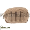 HORIZONTAL MOLLE UTILITY POUCH COYOTE WITH ZIPPER MA8 CONDOR