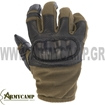 OPERATION TACTICAL GLOVES O.D-BLACK WITH KNUCKLE