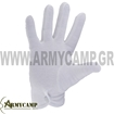 PARADE GLOVES COTTON 100% WHITE COLOR  OLIVE COLOR  MADE IN GREECE