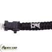 WA-022BK WITH-ARMOUR EUROPE GREECE PARACORD BRACELET