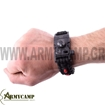 WA-022BK WITH-ARMOUR EUROPE GREECE PARACORD BRACELET SURVIVAL