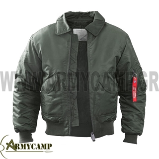 Picture of FLIGHT JACKET MADE BY SURVIVORS O.D