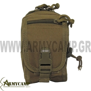 SMALL UTILITY POUCH COYOTE
