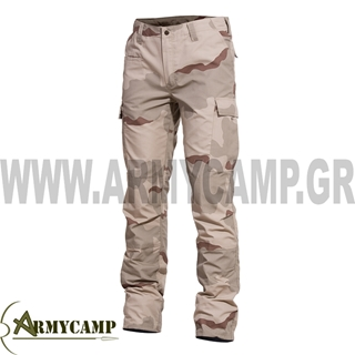 Picture of BDU 2.0 RIP-STOP PANTS BY PENTAGON- THREE-COLOURED DESERT