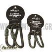 Picture of WOODLAND 60MM TACTICAL CARABINER (PAIR)