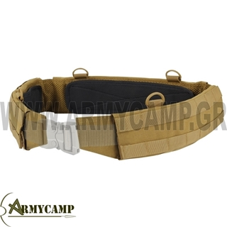 SLIM BATTLE BELT COYOTE TAN