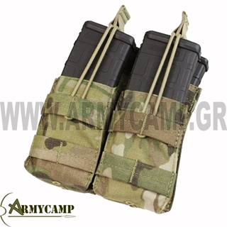 Picture of DOUBLE STACKER M4 MAG POUCH MULTICAM