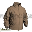 GUNFIGHTER SOFTSHELL JACKET WATERPROOF WINDPROOF NAVY BLUE BLACK ARTAXES MULTICAM