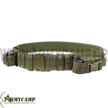 TACTICAL BELT BY CONDOR USA black ζωνη εξαρτυσησ αστυνομιασ χακι