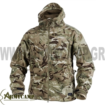 PATRIOT HEAVY FLEECE ΖΑΚΕΤΑ MULTICAM ΣΤΡΑΤΟΥ HELIKON-TEX BL-PAT-HF-33 MP CAMO