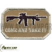 ΔΙΑΚΡΙΤΙΚΟ M4 PATCH -COME AND TAKE IT ( ΜΟΛΩΝ ΛΑΒΕ )