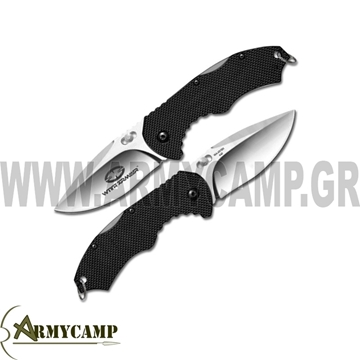 ΚΡΥΦΟΣ ΣΟΥΓΙΑΣ ΤΣΕΠΗΣ DEM1 WITH-ARMOUR -GREECE WA-051BK WITH ARMOUR DEM1  FOLDING POCKET KNIFE 440C  STAINLESS STEEL