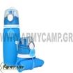 ΑΝΑΔΙΠΛΟΥΜΕΝΟ ΠΑΓΟΥΡΙ ΣΙΛΙΚΟΝΗΣ 750ml μπλε χακι στρατου outdoor camping alpin s5